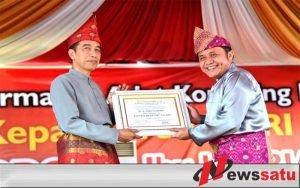Presiden Joko Widodo Mendapat Gelar Balaq Mangku Nagaro