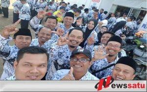 STKIP PGRI Sumenep Bangga Ikut Sukseskan HGN dan HUT Ke-73 PGRI di Sumenep