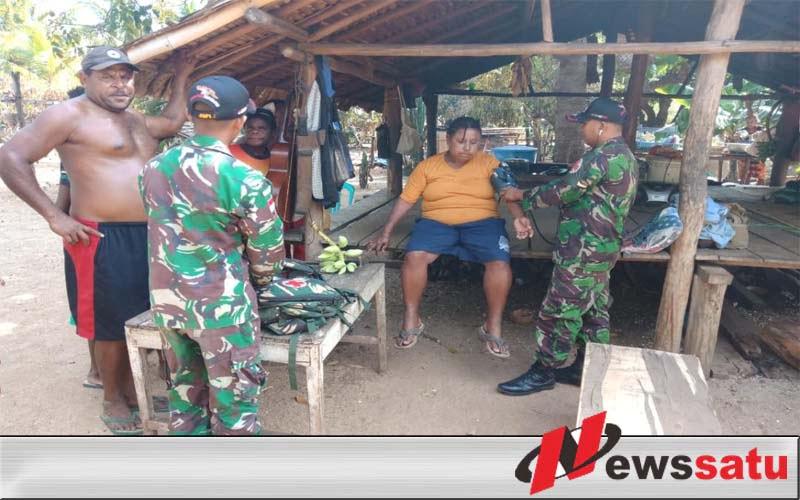 Satgas Pamtas RI-PNG Yonmek 521 DY Terapkan Pola Bivak To Bivak