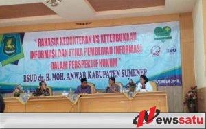 Tingkatkan Pelayanan, RSUD dr Moh Anwar Sumenep Bekali Tenaga Medisnya