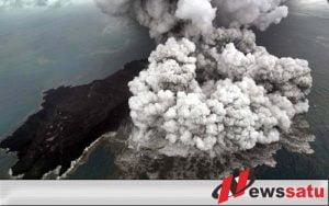 Aktivitas Gunung Anak Krakatau Saiga III