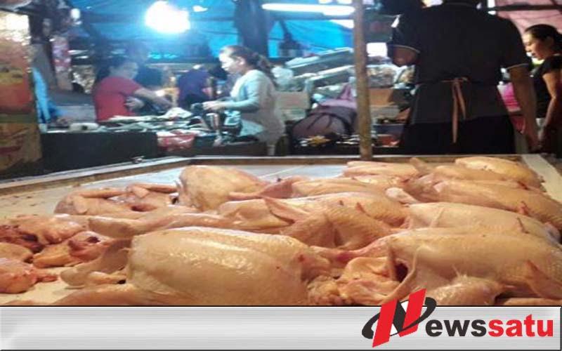 Harga Ayam Potong Di Bandung Tembus Rp 32 Ribu