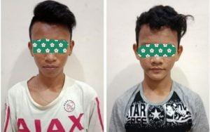 Bawa Sajam, Dua ABG Ditangkap Ogan Komering Ilir