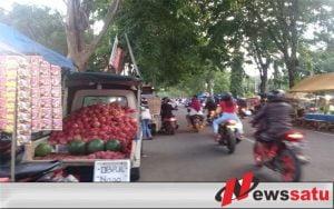 PKL Di Jalan Cokrominoto Probolinggo Kembali Manjamur