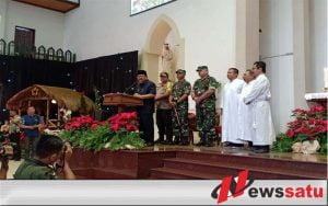 Pangdam V Brawijaya Bersama Forkopimda Jatim Kunjungi Gereja Di Surabaya