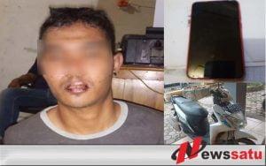 Pelaku Jambret Di Banjarmasin Babak Belur Dihajar Warga