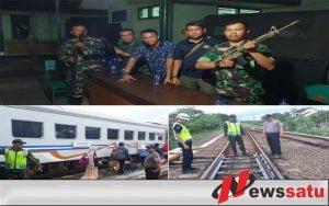 Perayaan Natal Kodim 0703 Cilacap Kerahkan Personel Di Stasiun KA