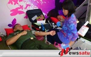 Tetesan Darah Anggota 082 CPYJ Sambut Hari Juang Kartika