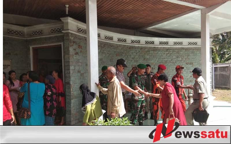 Tim Gabungan Amankan Perayaan Natal Di GKJ Hosiana