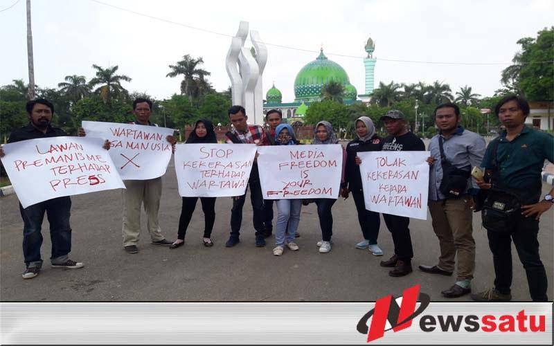 Aniaya Wartawan, Jurnalis Pamekasan Desak Polisi Tangkap Oknum Ketua Pokmas