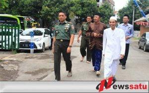 Danrem 083 Baladhika Berkunjung ke Ponpes Nurul Jadid Probolinggo