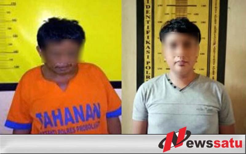 Edarkan Narkoba Perangkat Desa Ditangkap Polres Probolinggo