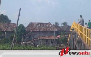 Jembatan Penghubung Dua Desa Di Ogan Komering Ilir Memprihatinkan