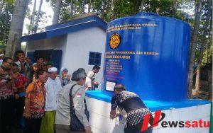 Kementerian ESDM Beri Bantuan Sumur Bor Di Probolinggo