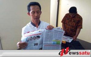 Kota Batu Mendapat Kiriman Misterius Tabloid 'Indonesia Barokah'