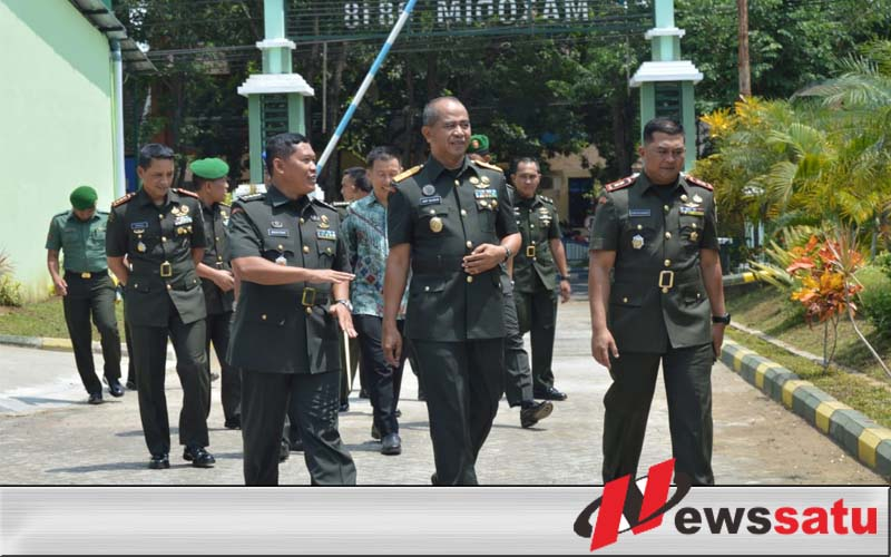 Pangdam Berkunjung ke Kodim 0818 Malang