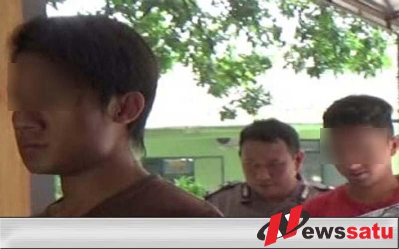 Polres Probolinggo Amankan Dua Pemuda Pencuri Kabel