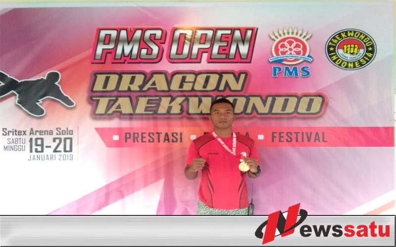 Prajurit Alugoro Juara Taekwondo Di Solo