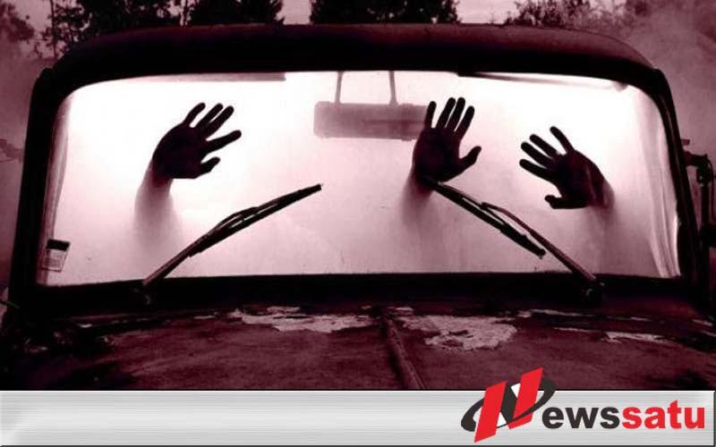 Satpol PP Natuna Amankan Pasangan Di Dalam Mobil