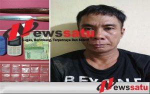 Simpan 19 Paket Narkoba, Warga Ogan Komering Ilir Ditangkap Polisi