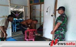 TNI Cilacap Bantu Warga Rehab Rumah