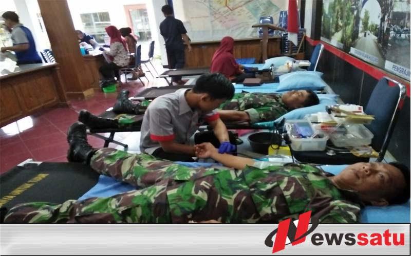 TNI Cilacap Gelar Donor Darah