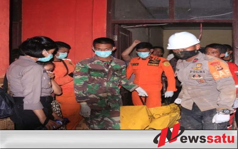 Tim Tanggap Bencana Kembali Temukan Korban Longsor Sukabumi