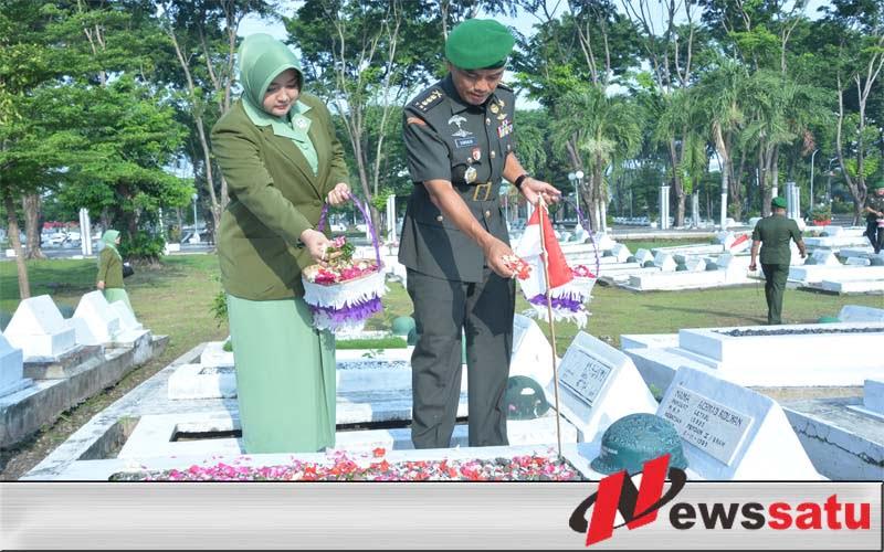 Ziarah ke Taman Pahlawan, Wujud Penghormatan Personel Pendam V Brawijaya