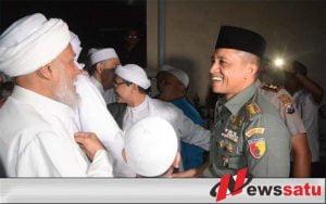 Danrem 083 Baladhika Jaya Silaturahmi dengan Ulama Se-Malang Raya