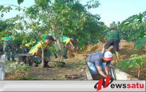 Hari Peduli Sampah, Armed 12 Kostrad Sosialisasikan Kebersihan Lingkungan