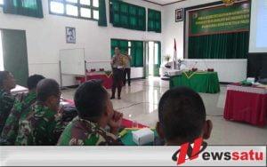 KPUD Kota Malang Sosialisasikan Proses DPT di Korem 083 Baladhika Jaya