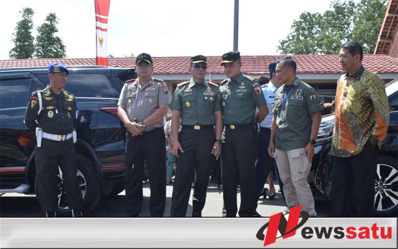 Pangdam V Brawijaya Amankan Kunjungan Presiden Jokowi