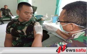 Perangi The Silent Killer, Armed 12 Laksanakan Vaksinasi
