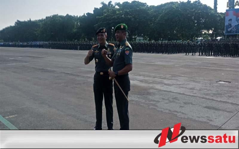 Tongkat Komando Dangartap III Surabaya Secara Resmi Beralih