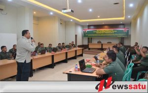 Danrem 084 Bhaskara Jaya Minta Prajurit dan PNS Korem Melek Teknologi