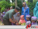 Danrem 084 Bhaskara Jaya Sapa Warga Sumenep Di Daerah Terisolir