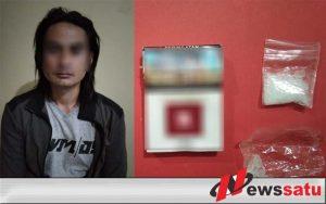 Edarkan Narkoba, Pria Gondrong Ini Ditangkap Polres Sumenep