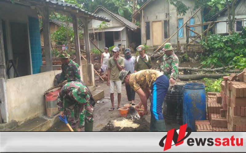 Warga Sumringah Jalan Dusun Paleran Jember Dipaving