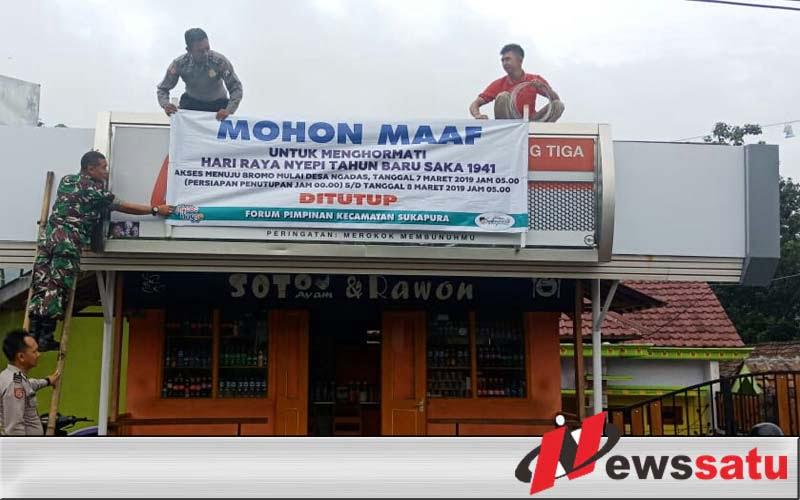 Jelang Nyepi, Akses Jalan ke Bromo Probolinggo Ditutup