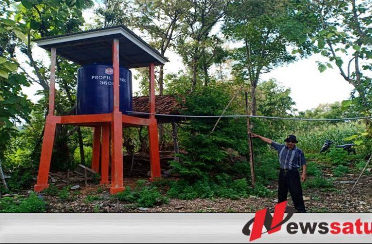 KKKS EML Bangun Tandon Air Bersih Di Desa Pagarbatu Sumenep