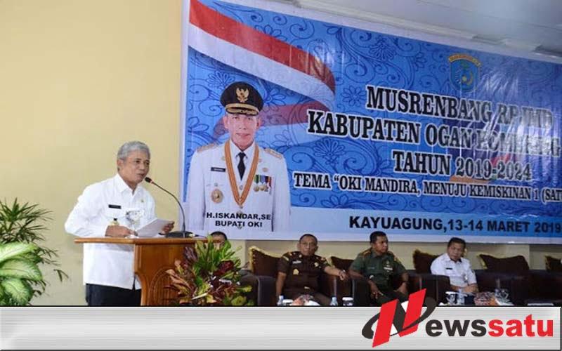 Kabupaten OKI Targetkan 57 Hari RPJMD 2019-2024 Tuntas
