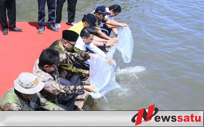 Kabupaten Probolinggo Dapt Bantuan Ribuan Benih Ikan Dan Alat Pertanian