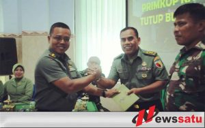 Kasrem 082 CPYJ Apresiasi Kinerja Pengurus Primkop Kartika Citra Panca Yudha Jaya