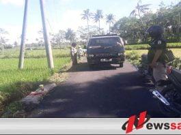 Masyarakat Dusun Gayasan Antusias Bersih-Bersih Jalan