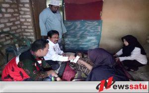 Nenek Lumpuh Di Pamekasan Mendapat Pelayanan Kesehatan Gratis