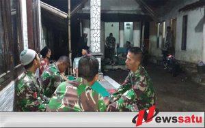 Pabintal Korem 083 Baladhika Jaya Pimpin Yasin Bersama di Lokasi TMMD
