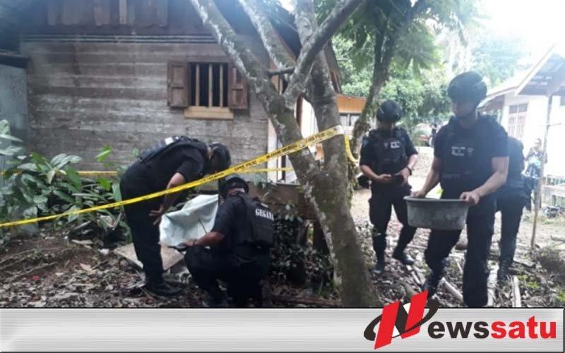 Penemuan Granat Nanas Aktif Langsung Di Evakuasi Tim Jibom Polda Kalsel
