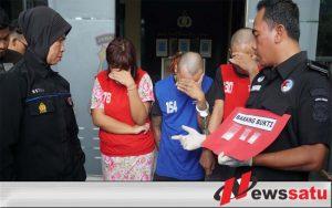 Pengedar Sabu Jaringan Lapas Dibekuk Polisi Secara Maraton