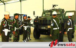 Polisi Militer Razia Kendaraan Anggota Yonarmed 12 Kostrad