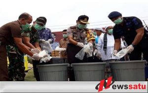 Polres Aceh Timur Ungkap Kasus Narkoba 28 Kilogram